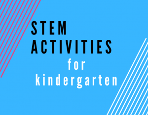 Read more about the article STEM Activities for Kindergarten